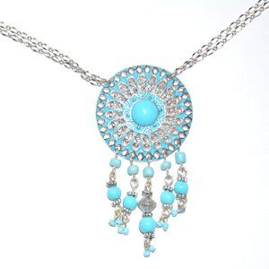 Jewelry - New Dream Catcher Turquoise Necklace